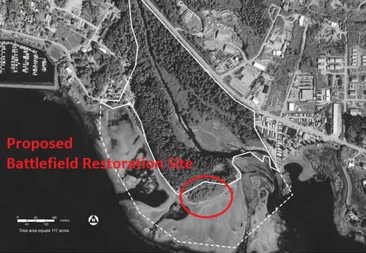 Park to restore 'visual corridor' to historic battlefield