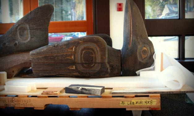 A Totem Pole Returns: After 30 years, Raven Shark pole back in Sitka