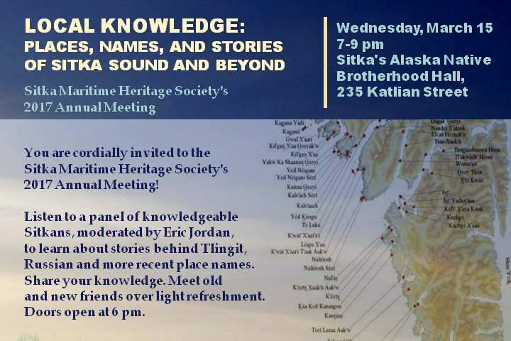 Maritime History: Places, names, and stories of Sitka Sound and beyond