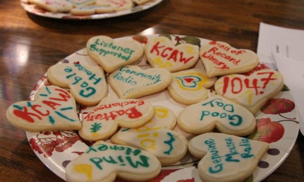 Homemade cookies for homegrown radio