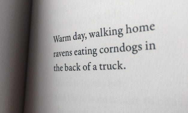 Straley finds poetry in herring, taxes, and corndogs