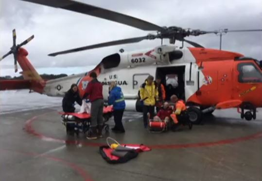 VIDEO: Air Station Sitka rescues injured hiker, stranded boaters