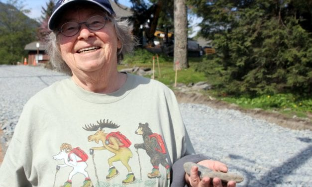 'Woman with small shovel' finds a clue to Sitka's paleo past