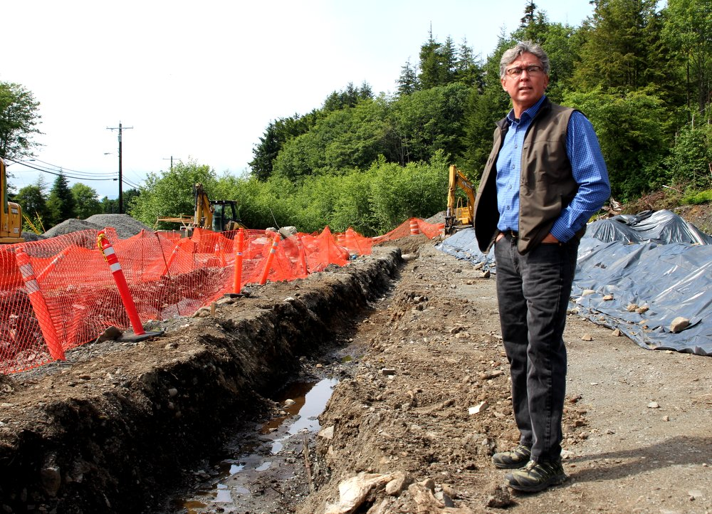 Soil contamination slows but doesn 39 t deter sitka for Soil contamination