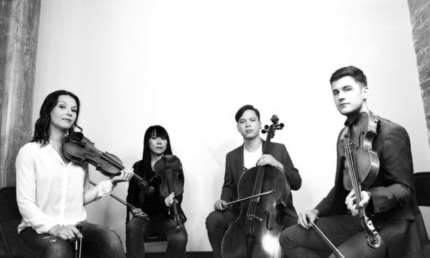 Young quartet kicks off month of chamber music