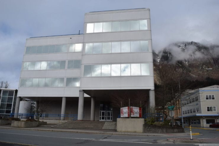 Sealaska's corporate headquarters building is in Juneau. The Southeast regional Native corporation will hold its annual meeting June 24 in Hydaburg.