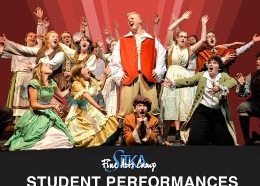 High school camp ready for final performances