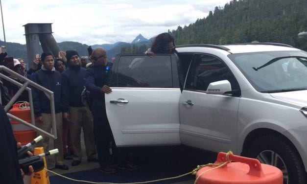 Oprah's short visit to Sitka and lasting impact on fans