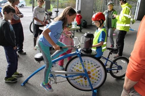 'Kidical Mass' teaches bike safety around the world