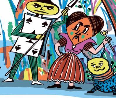 'Off with his head!': Young Performers stage Alice in Wonderland