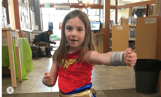 Wonder Woman costume makes a comeback