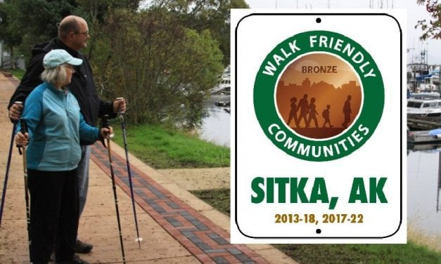 Dedicated legwork wins Sitka another 'Walk Friendly' designation