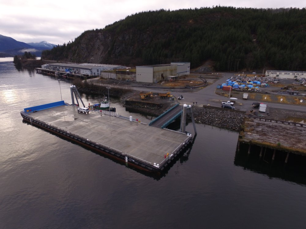 Floating dock lawsuit goes to Sitka court - KCAW