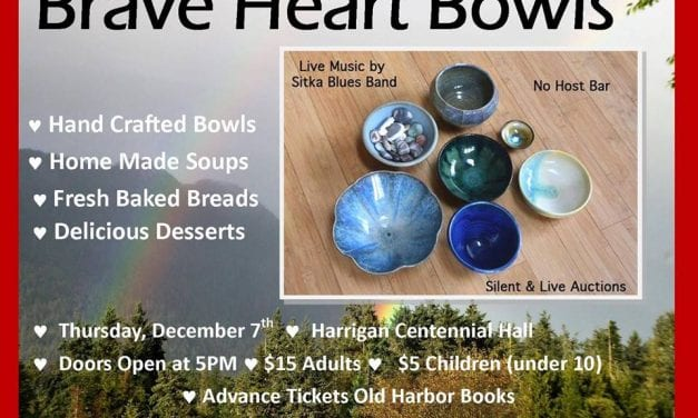 Bowls, bread, and soup to benefit Brave Heart Volunteers