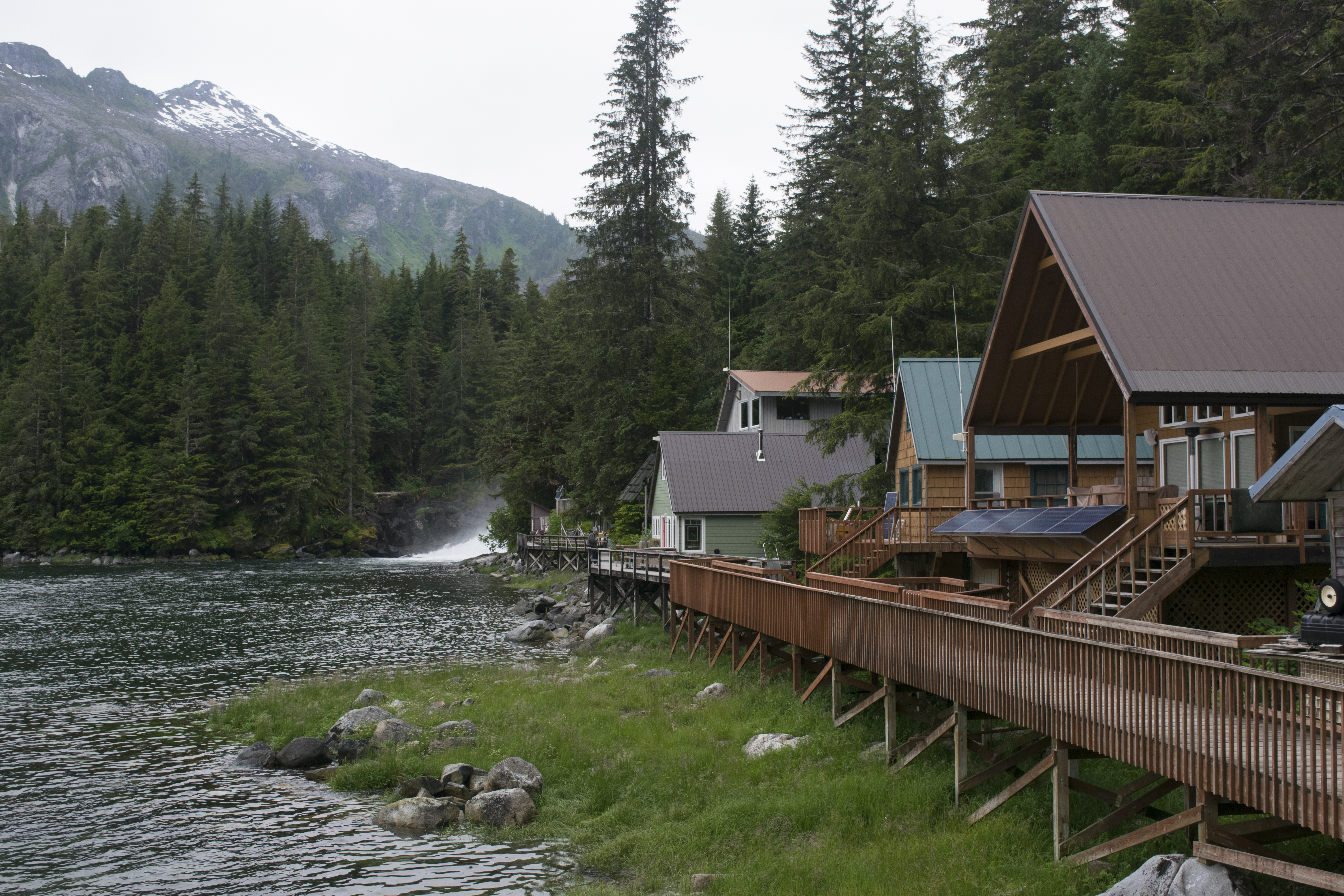 A Proposed Hatchery In Local Tourist Destination And Fishing Haven Has Some Sitkans Residents Of Baranof Warm Springs Up Arms