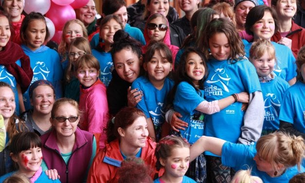 Girls empowerment program culminates in 5K run in Sitka