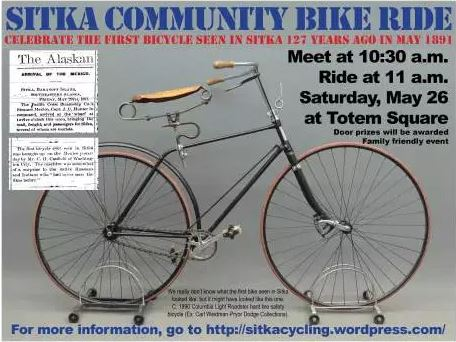 Sitkans celebrate National Bike Month with full calendar of events