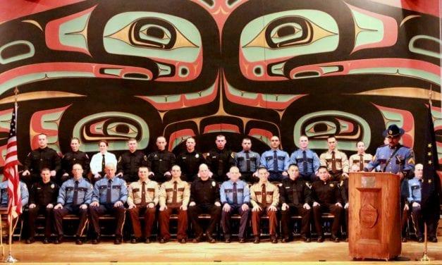 Sitka's Public Safety Academy 'Class of 1801' graduates