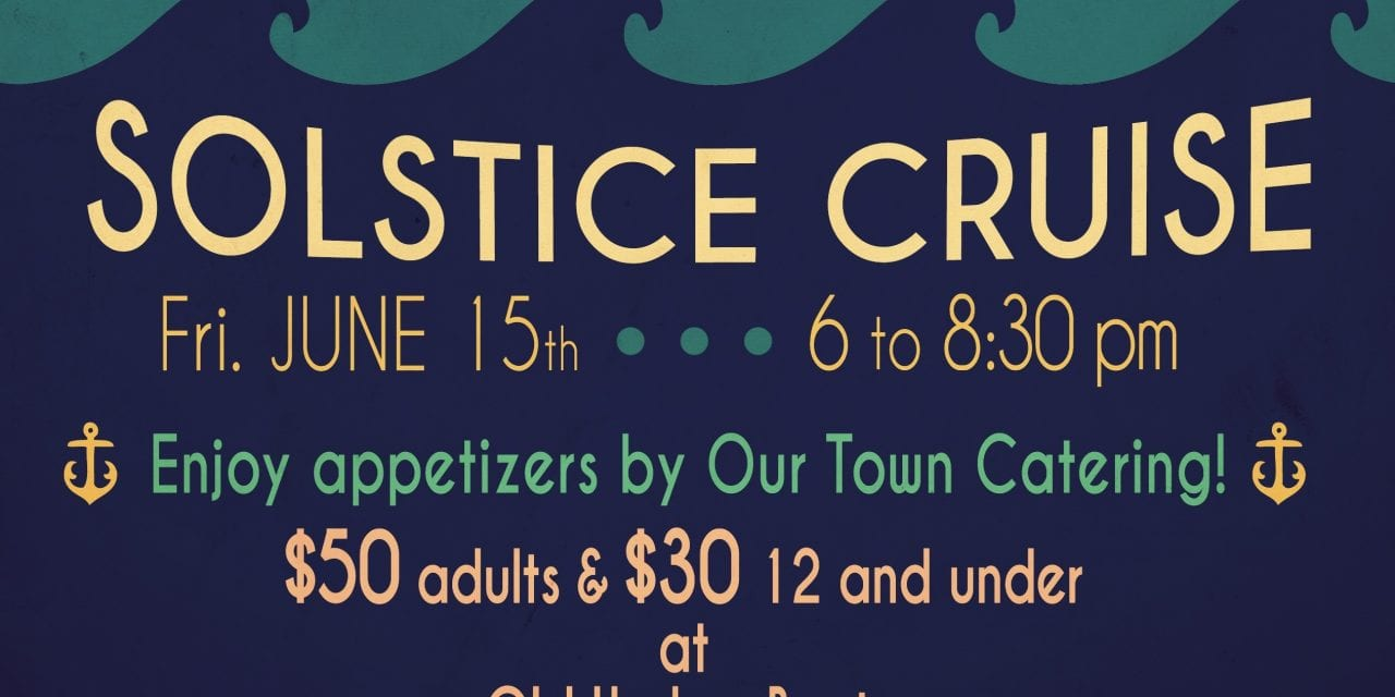 2018 Solstice Cruise: Tickets available now!