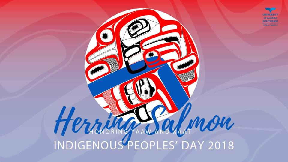 The second annual Indigenous Peoples' Day community celebration hosted by the University of Alaska Southeast on Monday, October 8 will focus on the importance of herring and salmon to Alaska Native people and culture. (Courtesy of Indigenous People's Day at UAS.)