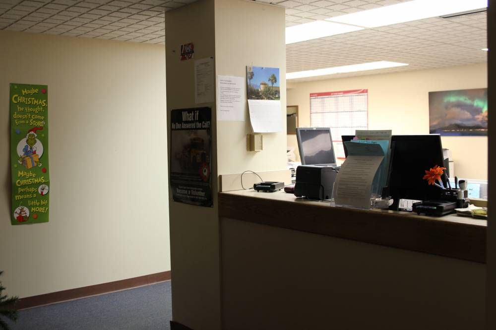 assembly reviews hospital process security upgrades at utility desk
