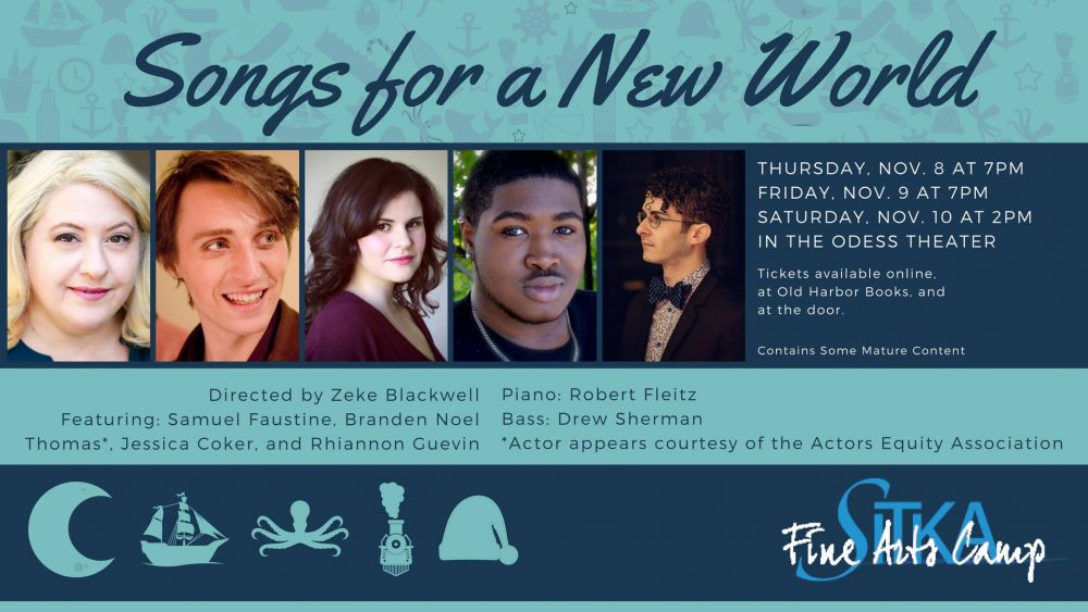 SFAC presents Songs for a New World this weekend - KCAW
