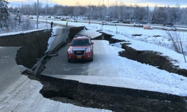 Live video: Anchorage earthquake, November 30, 2018