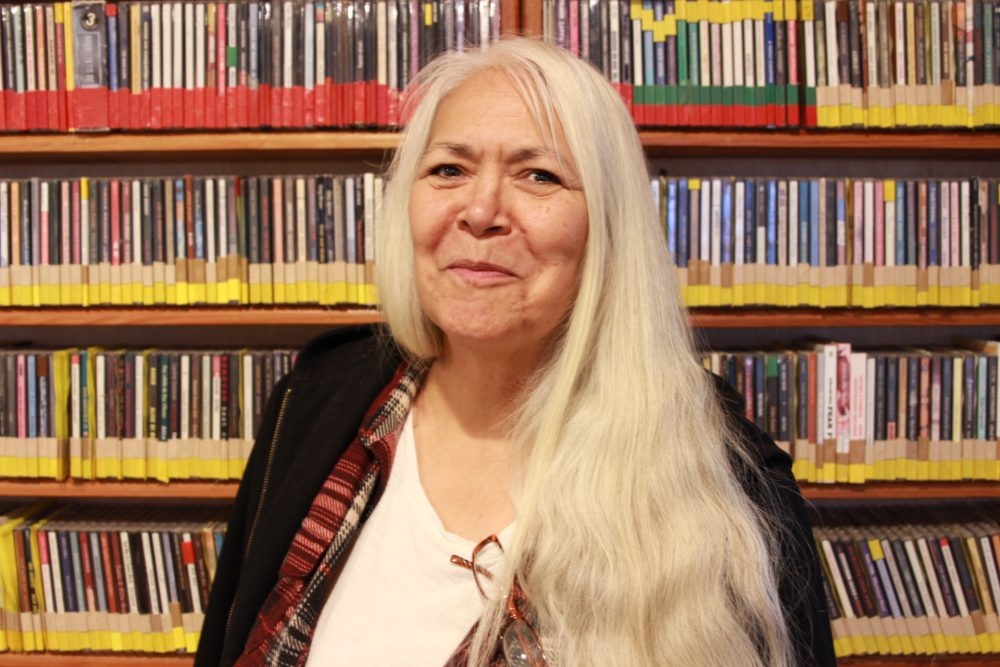 KathyHope Erickson was born and raised in Sitka and has been Tribal Chair in the Sitka Tribe of Alaska for the last two years. (Photo by Enrique Pérez de la Rosa)
