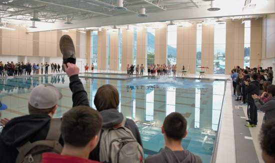 Mt. Edgecumbe pool opens with a splash in Sitka