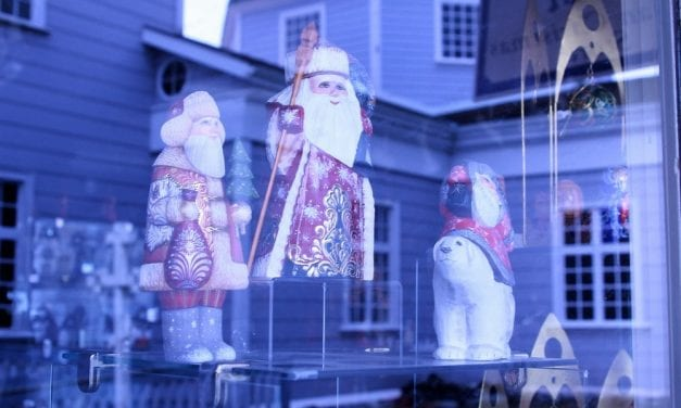 In Sitka, Christmas comes but twice a year!