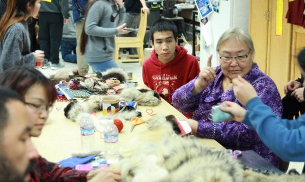 CorvidEYE: MEHS students learn traditional crafts during Founder's Week