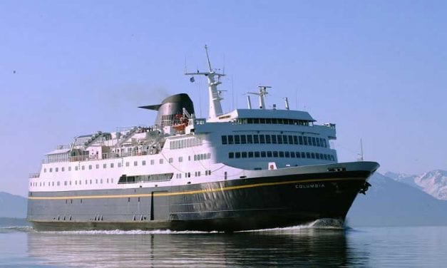 Engine trouble leaves state ferry Columbia awaiting repairs in Juneau