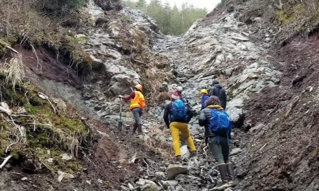 Researchers examine landslide causes and effects