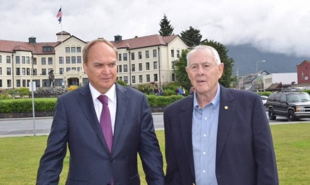 Russian ambassador seeks conversation, friendship in first visit to Sitka