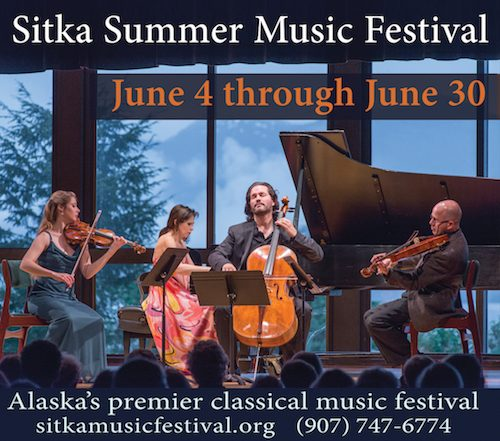 Sitka Summer Music Festival gears up for a busy weekend