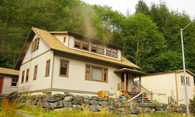 Fire scorches Sitka home, residents safe
