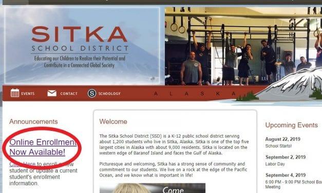 Sitka Schools offer online enrollment for all students