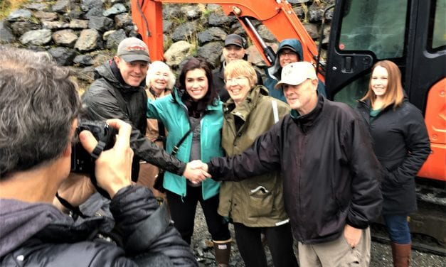 Sitka land trust breaks ground on affordable cottage neighborhood