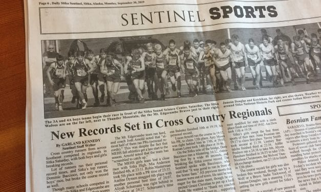 Records fall during Cross Country Regionals in Sitka