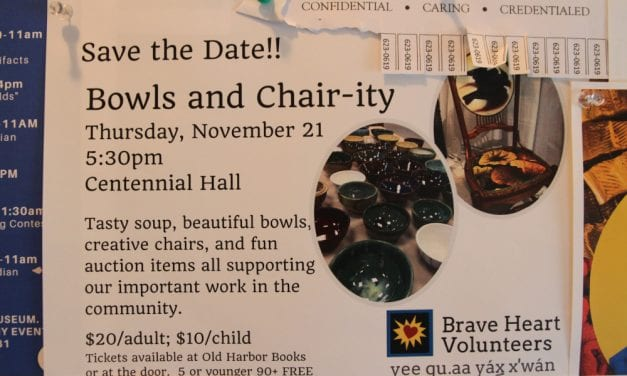 Soup, bowls, and chair-ity with Brave Heart Volunteers