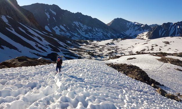 Heavy snowfall challenges 2019 PCT hiker from Petersburg