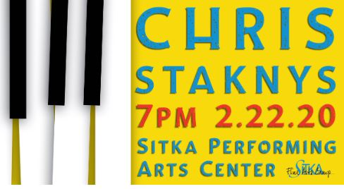 SFAC presents Chris Staknys in concert