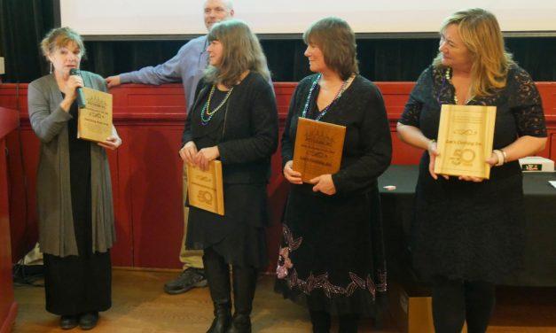 Main street icons honored at Petersburg chamber banquet